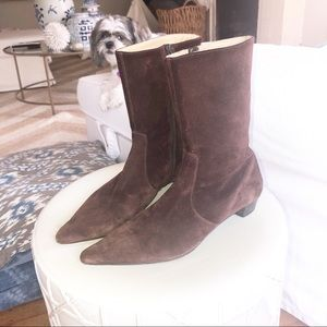 J. Crew suede boots size 9
